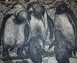 Drei Pinguine