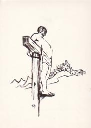 Schächer am Kreuz